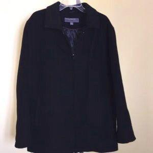 Perry Ellis Portfolio Coat Size Large